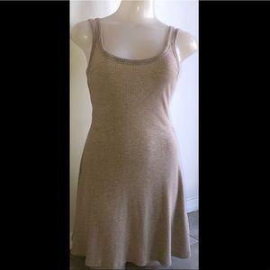 Forever 21 tan dress